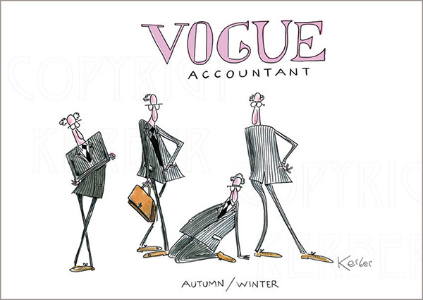 Vogue Accountant by Neil Kerber