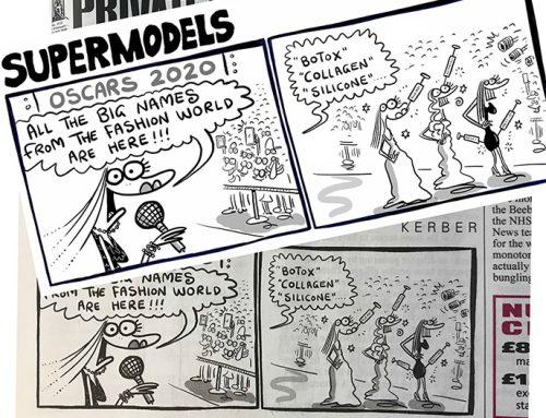 SUPERMODELS in Private Eye